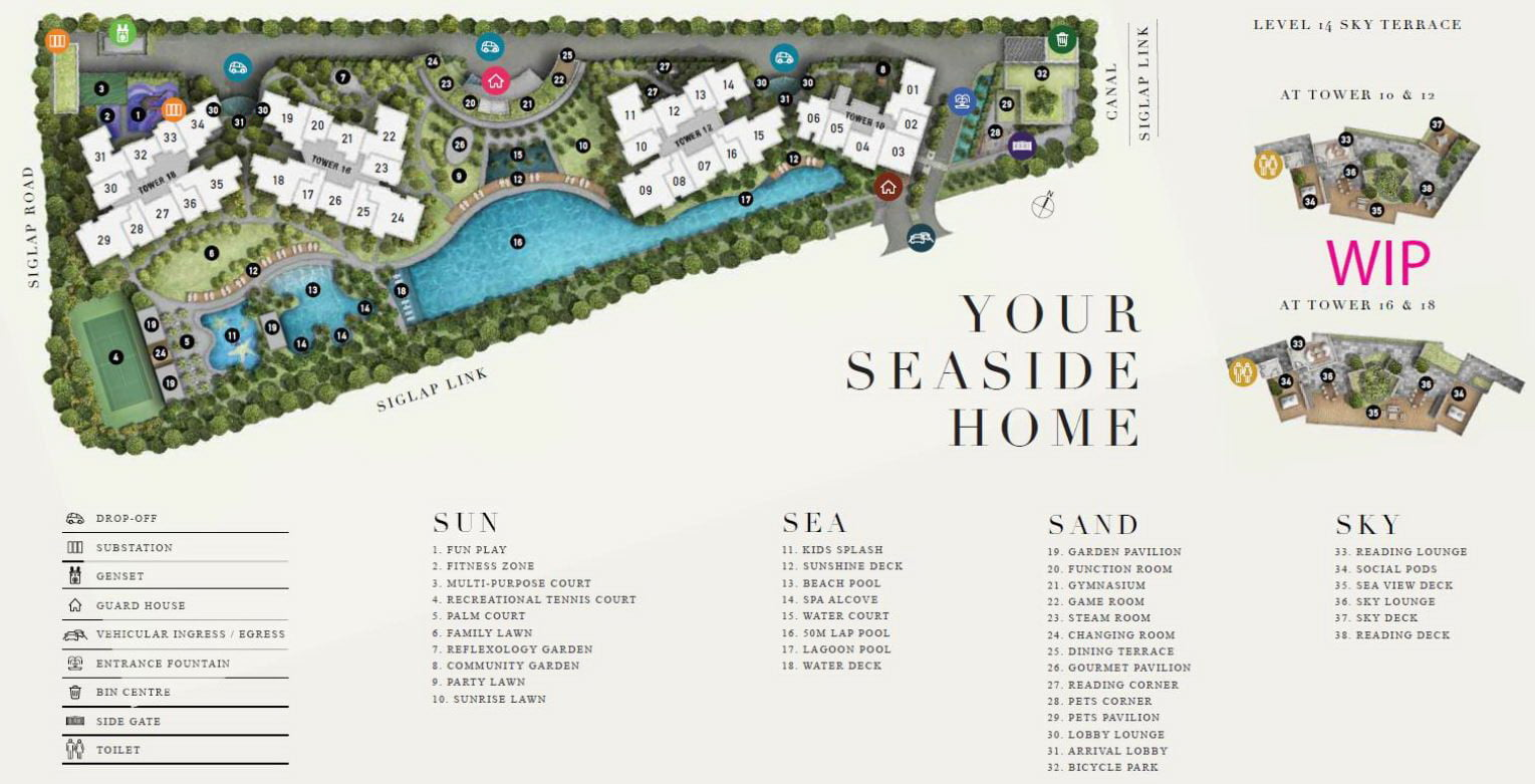 Seaside Residences Review Site Plan