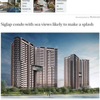Seaside Residences in The Straits Times News