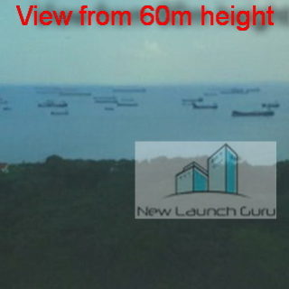 Seaside Residences view from 60m height