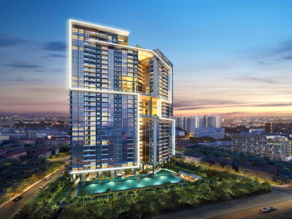 Sturdee Residences night perspective