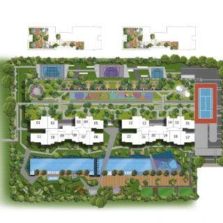 Parc Riviera Site Plan
