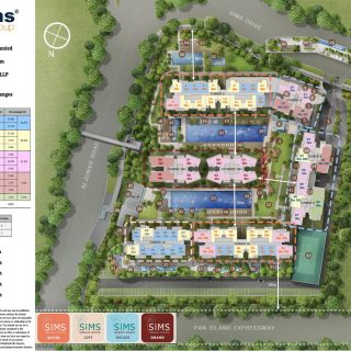 Sims Urban Oasis Site Plan