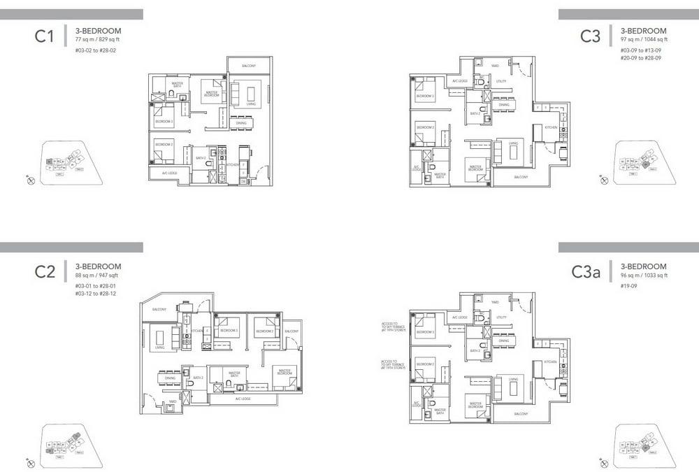Sturdee Residences 3 bedroom