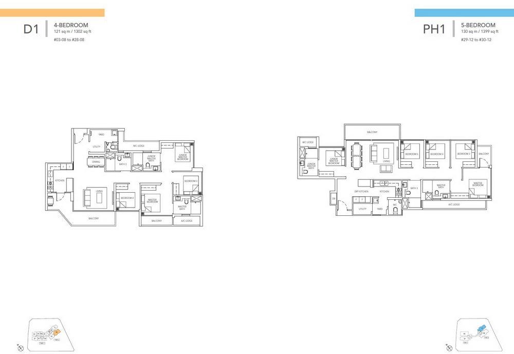 Sturdee Residences 4 bedroom