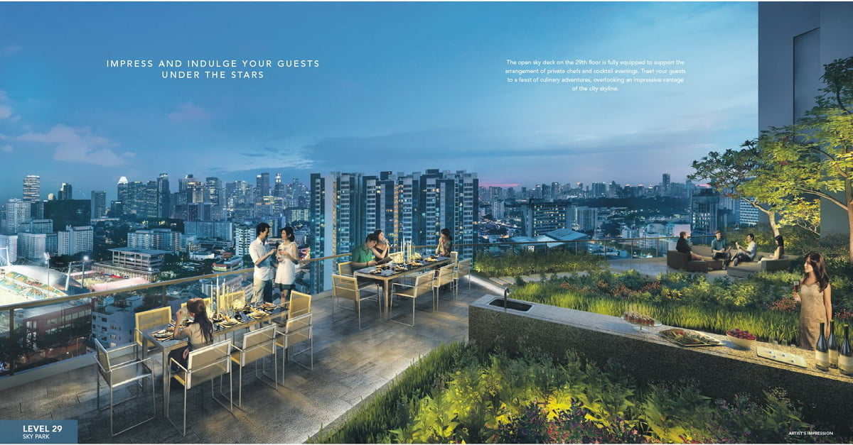 Sturdee Residences - Level 29 sky park