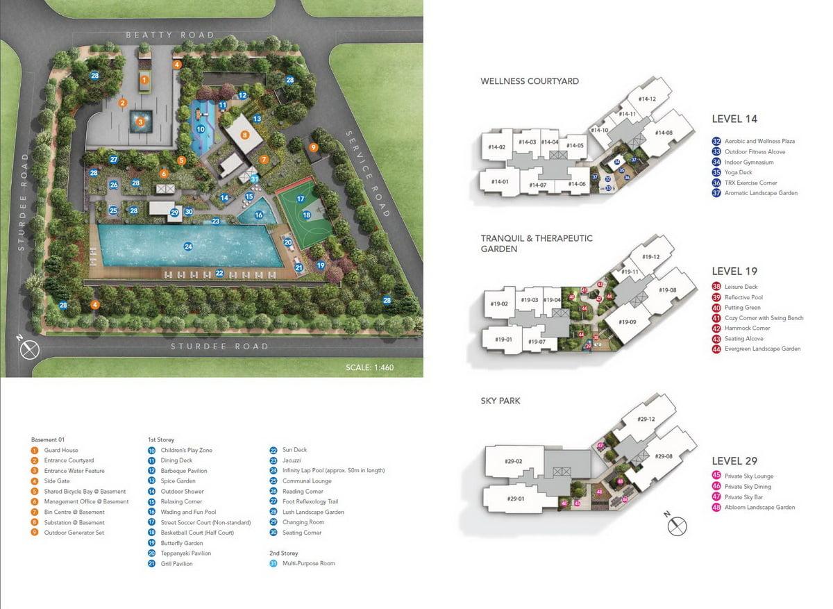 Sturdee Residences Site Plan