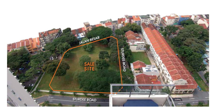 Sturdee Residences Actual Site