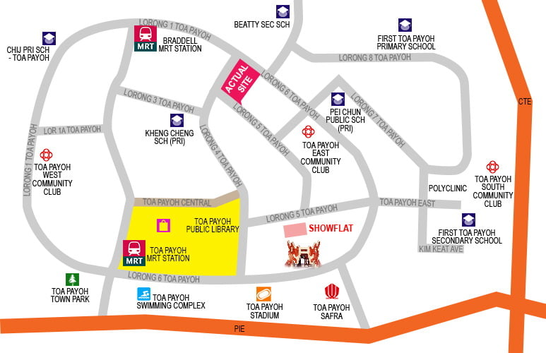 Gem Residences - Location