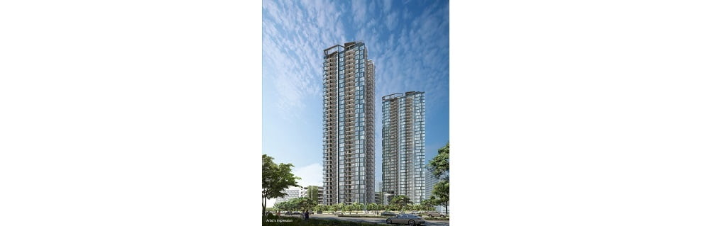 Gem Residences - perspective