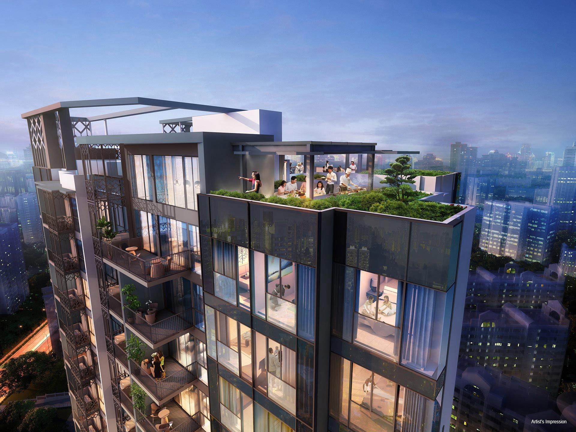 Gem Residences - Roof Top
