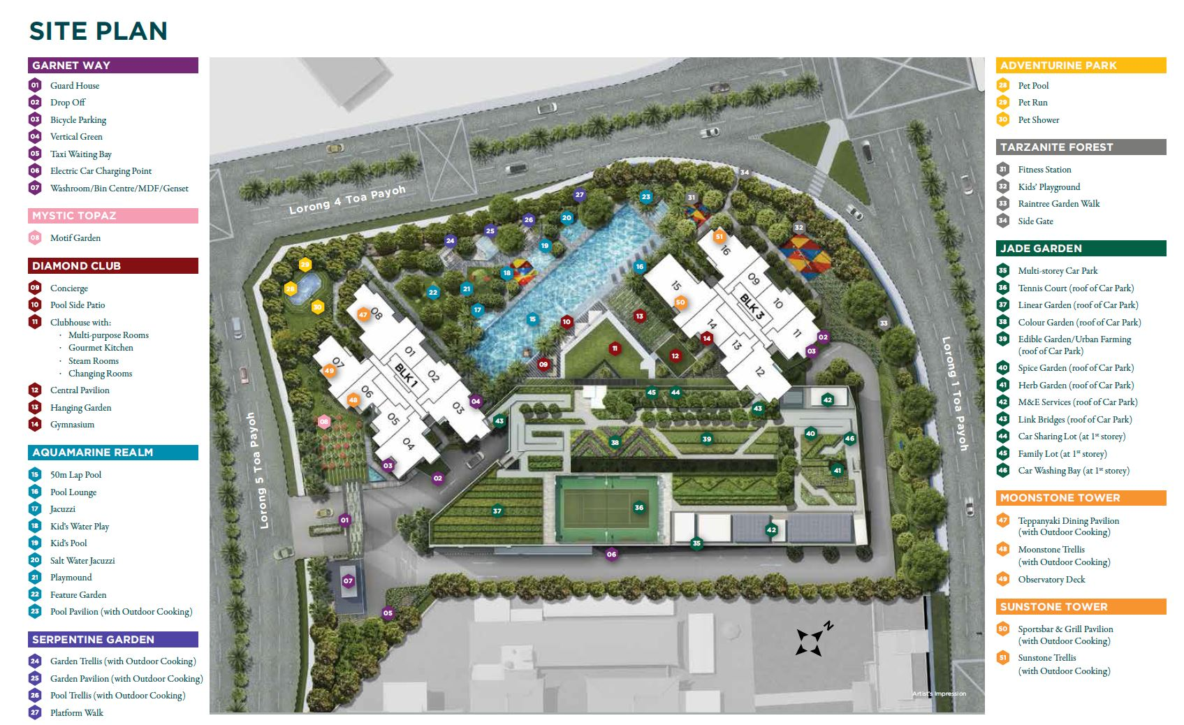 Gem Residences - Site Plan