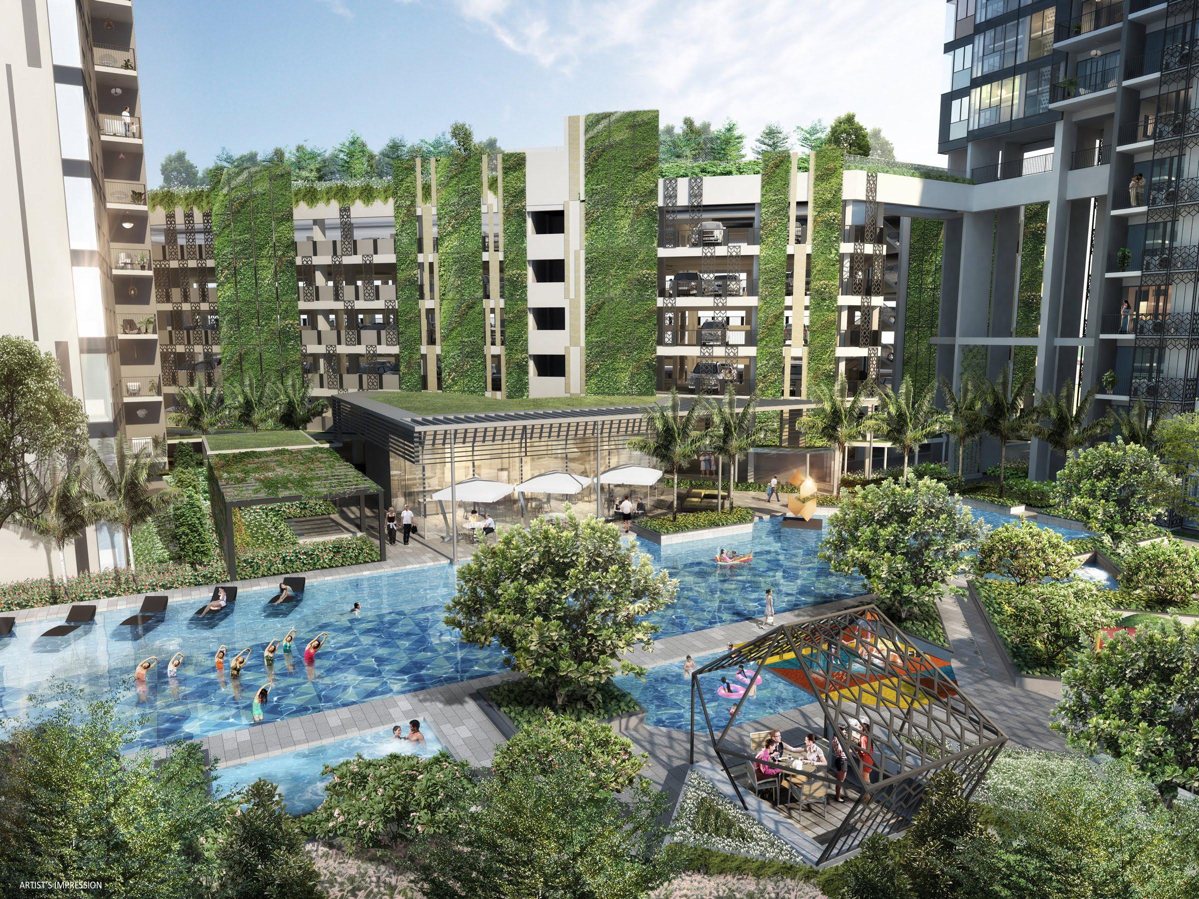 Gem Residences - Swimming Pool