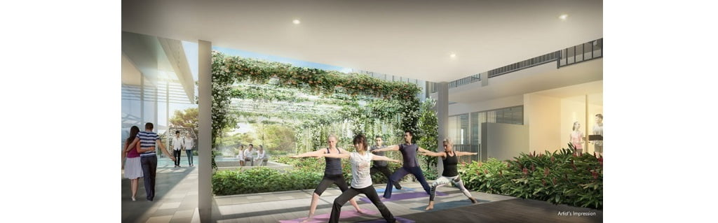 Gem Residences - yoga