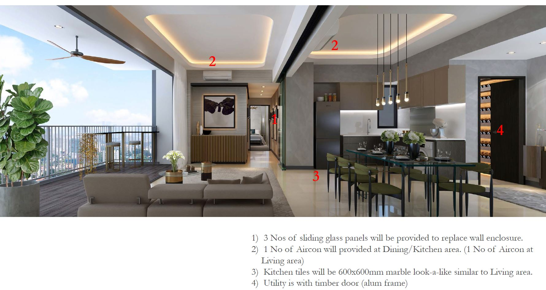 Gem Residences - new layout