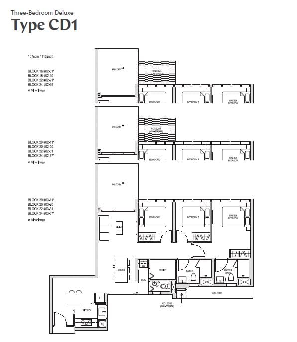 affinity at serangoon 3br deluxe