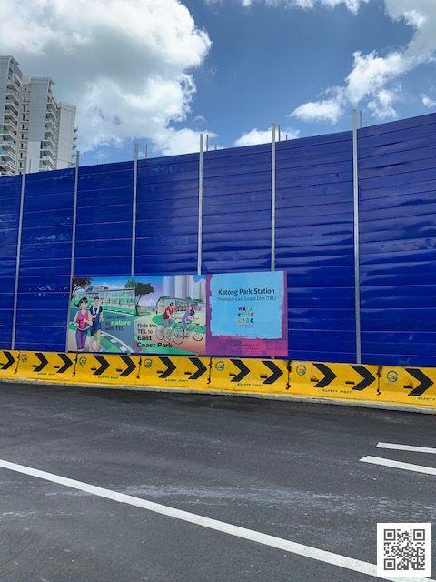 Katong Park MRT Construction Site