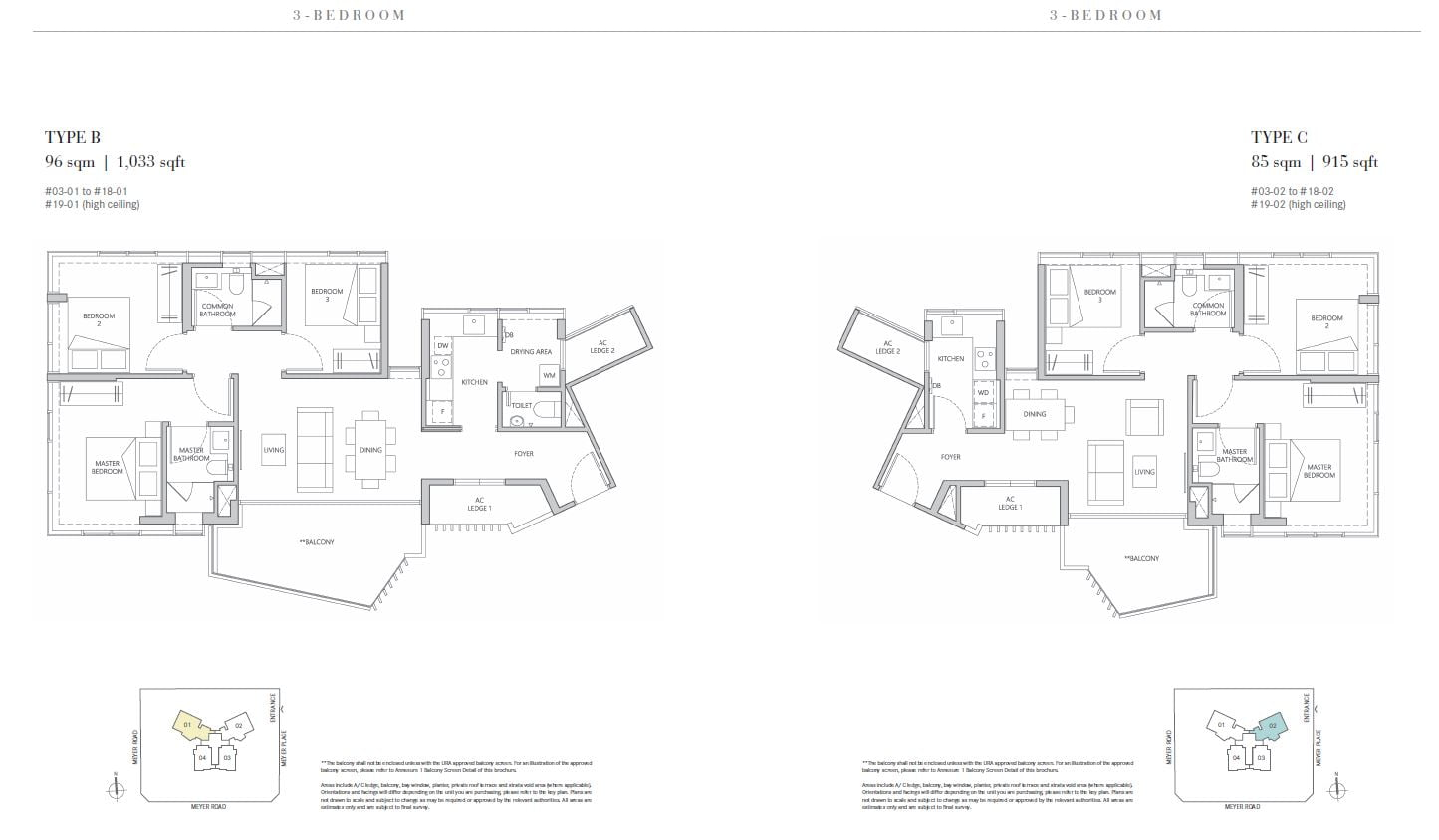 one meyer 3bed