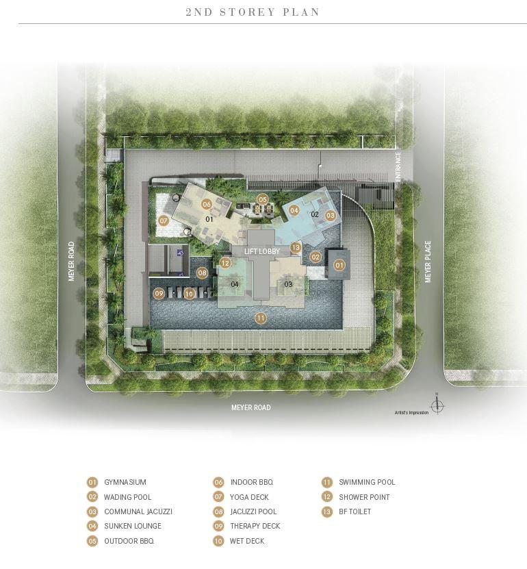 one meyer site plan