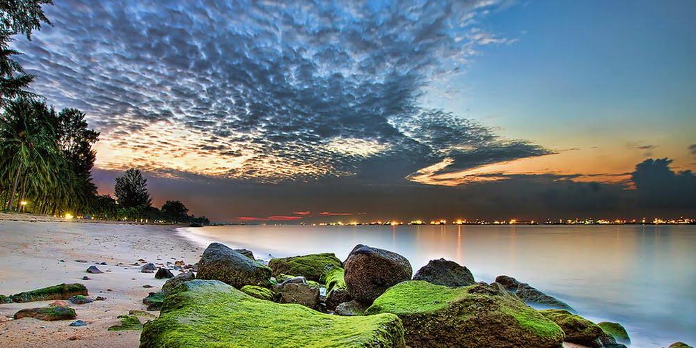 Amber Park sunrise at East Coast