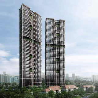 Avenue South Residence Perspective