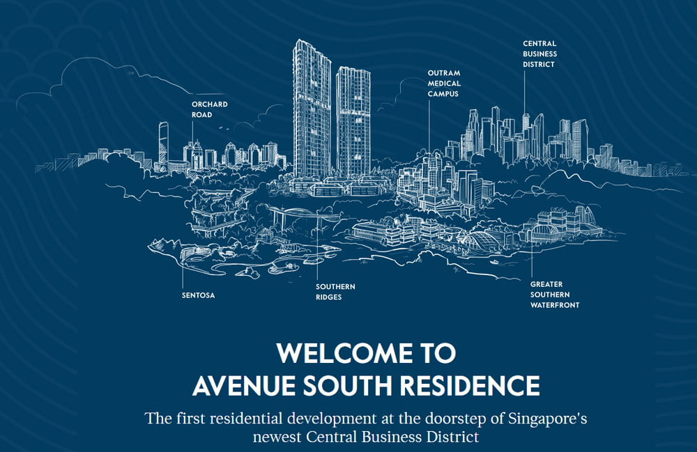 Avenue South Residence site view