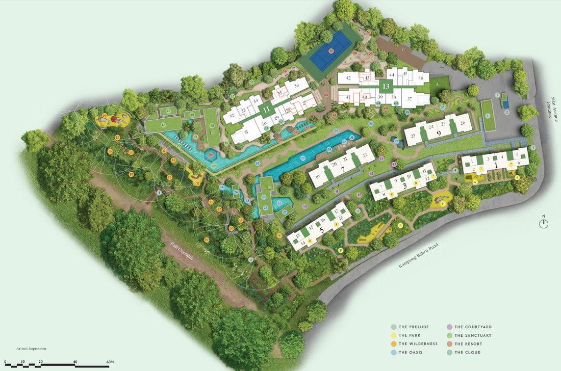 Avenue South Site Plan part 1