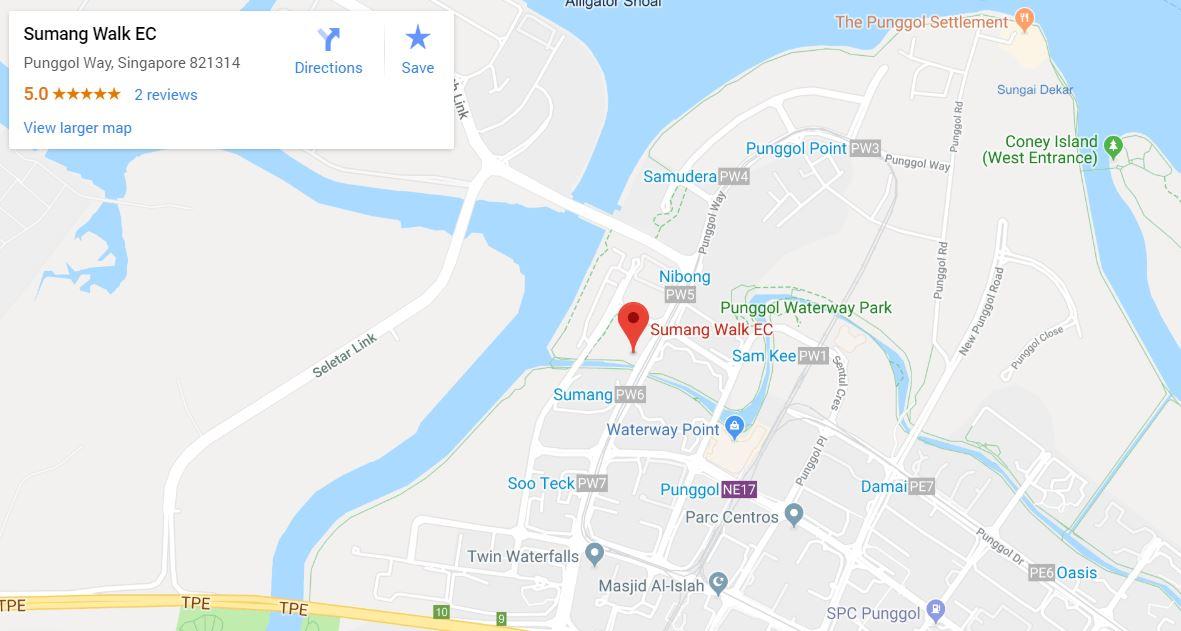 Piermont Grand EC at Sumang Walk Google Map