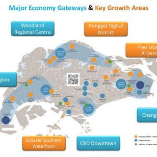 economy gateway and growth area drawn by newlaunchguru.sg