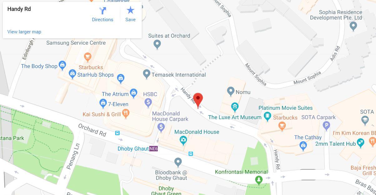 haus on handy location google map