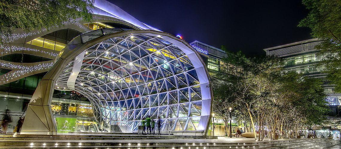 Haus on Handy Plaza Singapura Night View