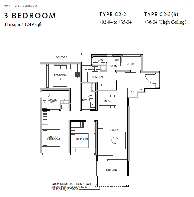 riviere 3bed