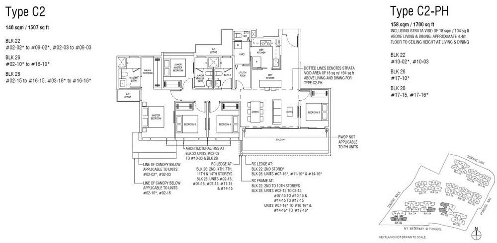 Piermont Grand EC Floor Plan 5 Bedroom Premium