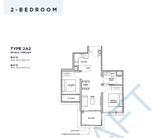 Dairy Farm Residences 2 BED