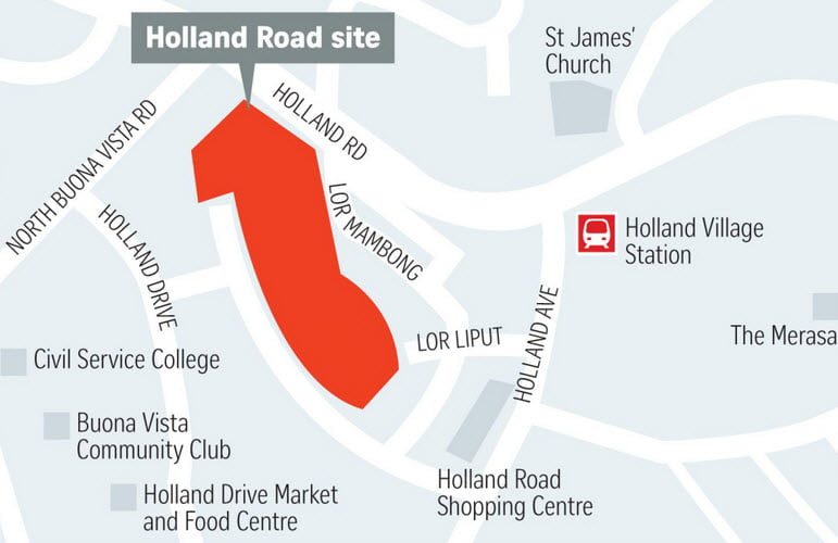 One Holland Village location