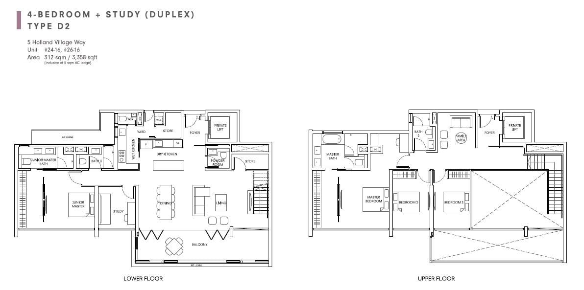 quincy 4+S Duplex