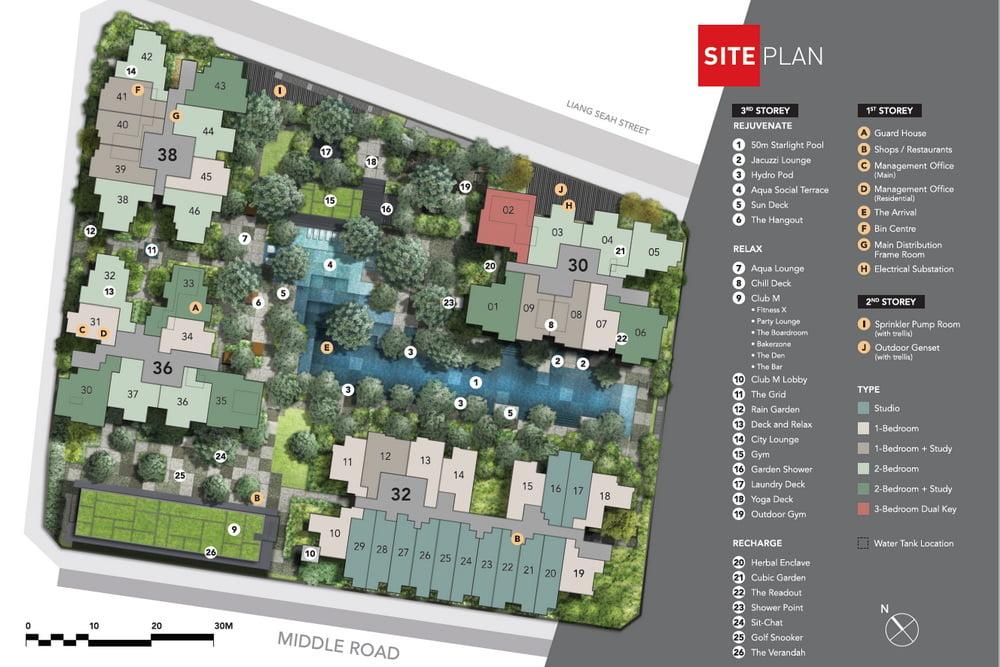 The M Site Plan part 1