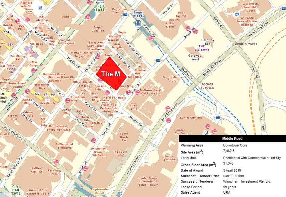 m-condo location