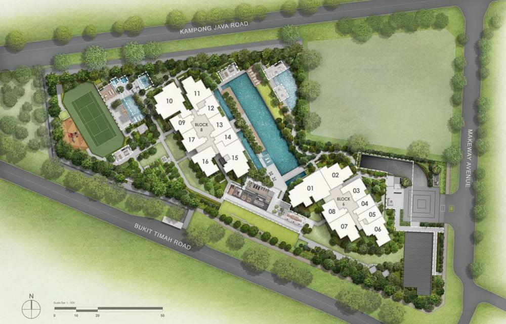 kopar-at-newton-site-plan