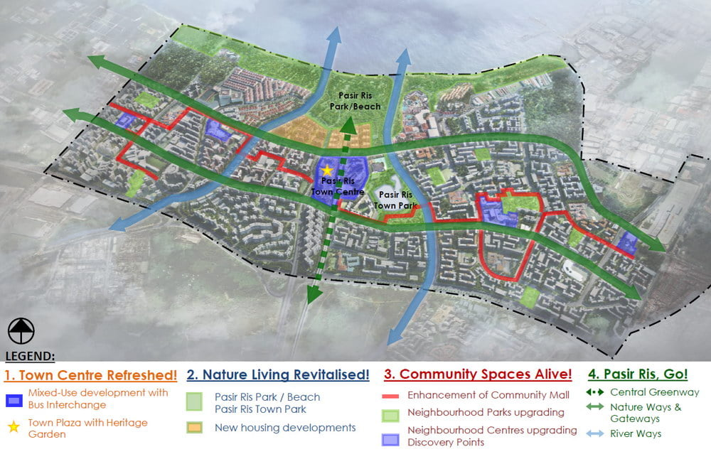 pasir ris central site plan