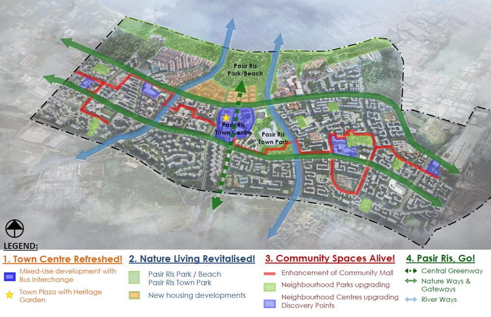 pasir ris central site plan