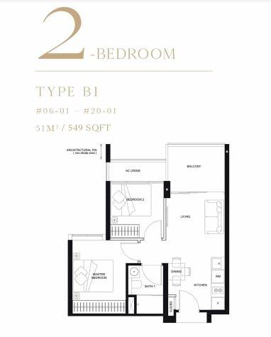 linq 2 bedroom