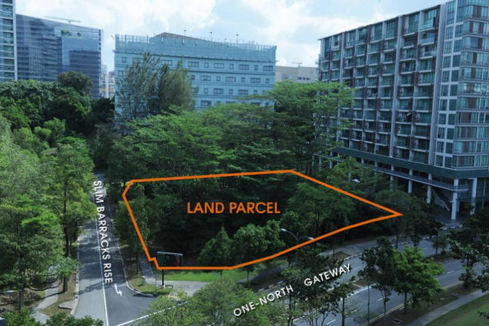One-north-gateway Land sale