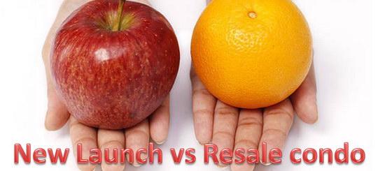 New launch vs Resale condo