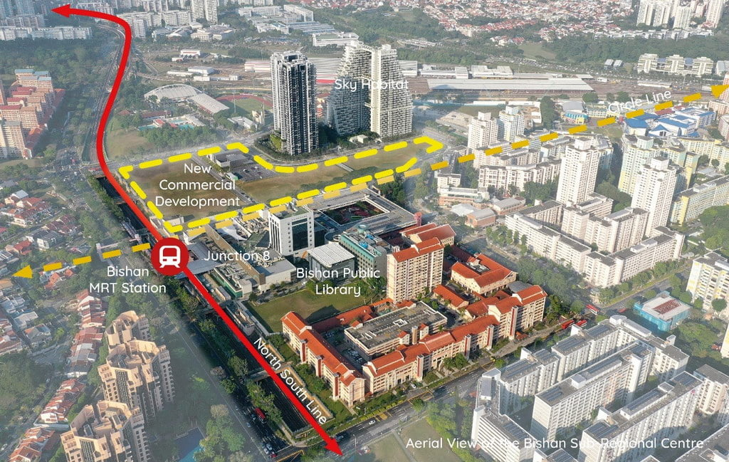 Bishan Commercial Node
