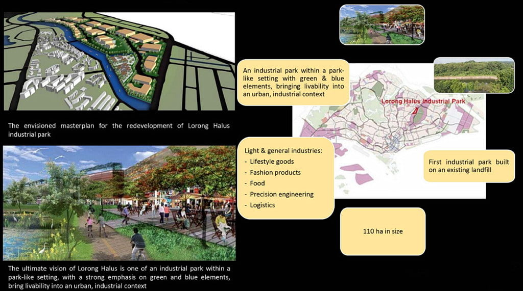 Lorong Halus industrial park