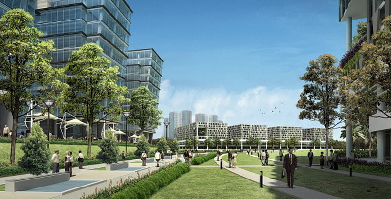 New Defu industrial park
