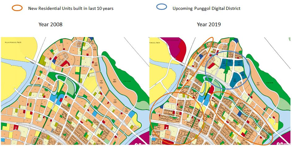 North-East 10-yr Master Plan changes