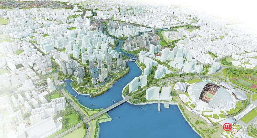 Possible Enhancements along the Kallang River