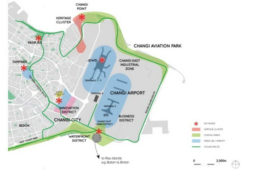 changi region development plan
