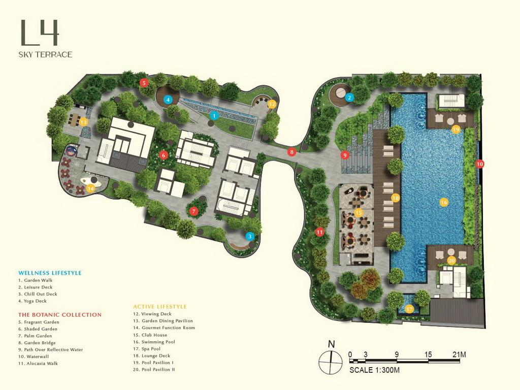 One Bernam siteplan Level 4